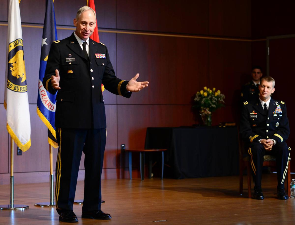 Judge Daniel J. Hill promoted to brigadier general