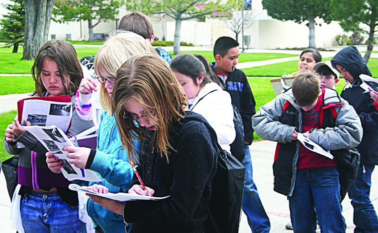 It's 'college day' for West Park students