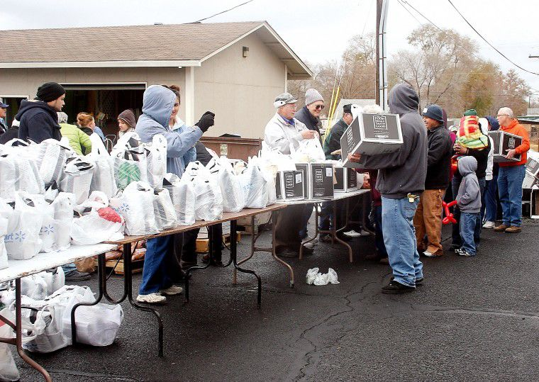 Hermiston Food Give-Away serves hundreds of families