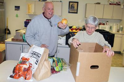 Food boxes help fill need for local families