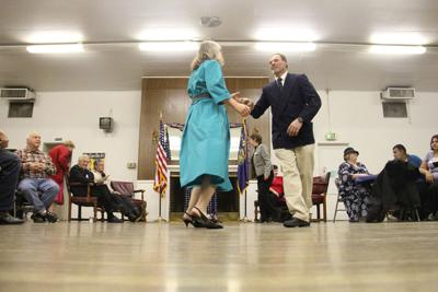 Veterans celebrate holiday with USO dance