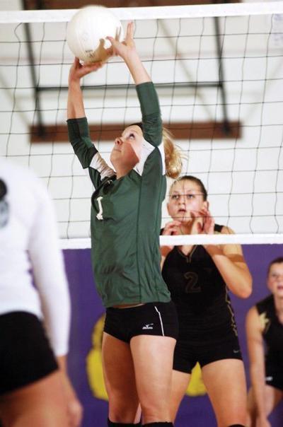 Bucks volleyball take big step up