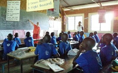 Stanfield couple reaches out to Ugandan kids