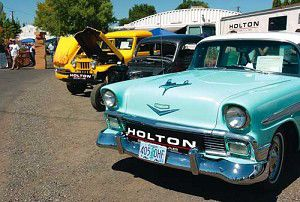 A hot day for hot rods
