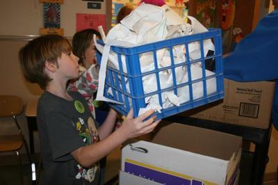 School makes recycling a habit