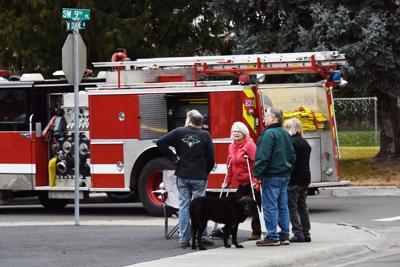 Hermiston Neighborhood evacuated after homeowner strikes gas line