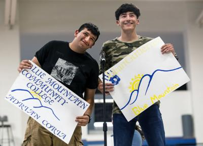 Umatilla celebrates students' post-high school plans