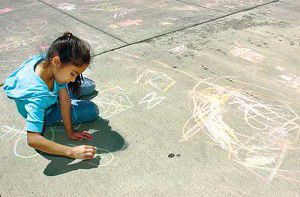 Chalk it up to being young