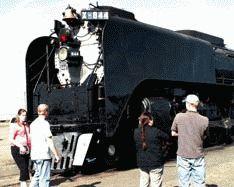 Railroad history steams through town