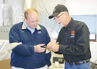 State Rep. Greg Smith tours HAREC, Hermiston sites