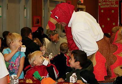 Talking turkey: Feathery fundraiser at Highland Hills