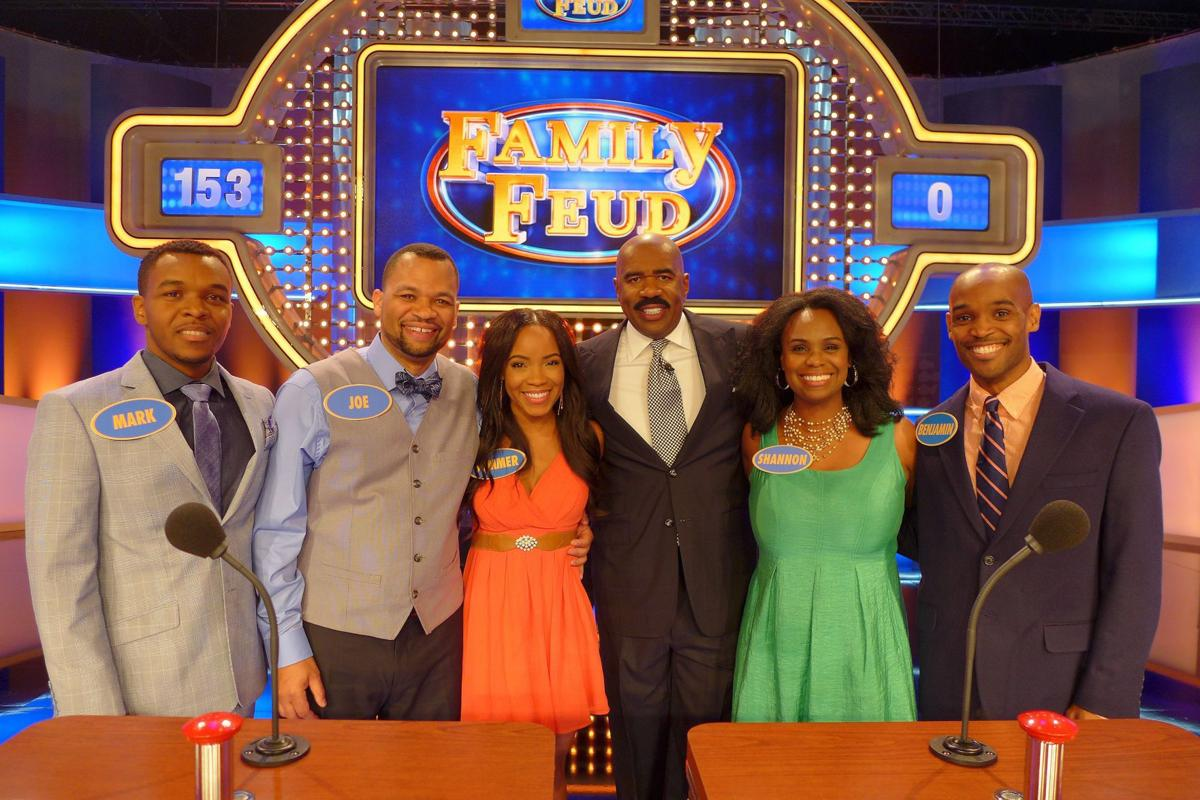 Is family feud filmed in georgia - Stone Family To Make National Television Premiere On Family Feud
