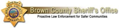 brown county sheriff logo