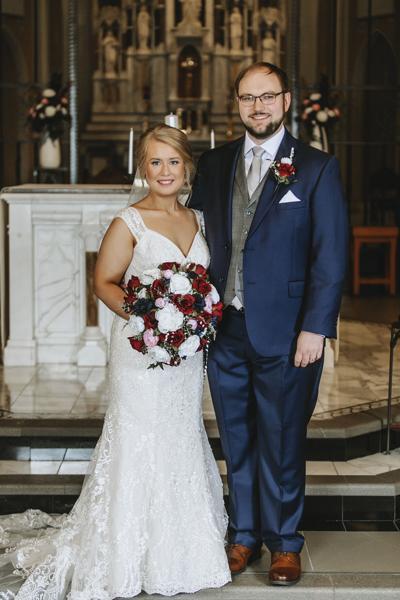 Jennifer McNary and Joel Kruse wed