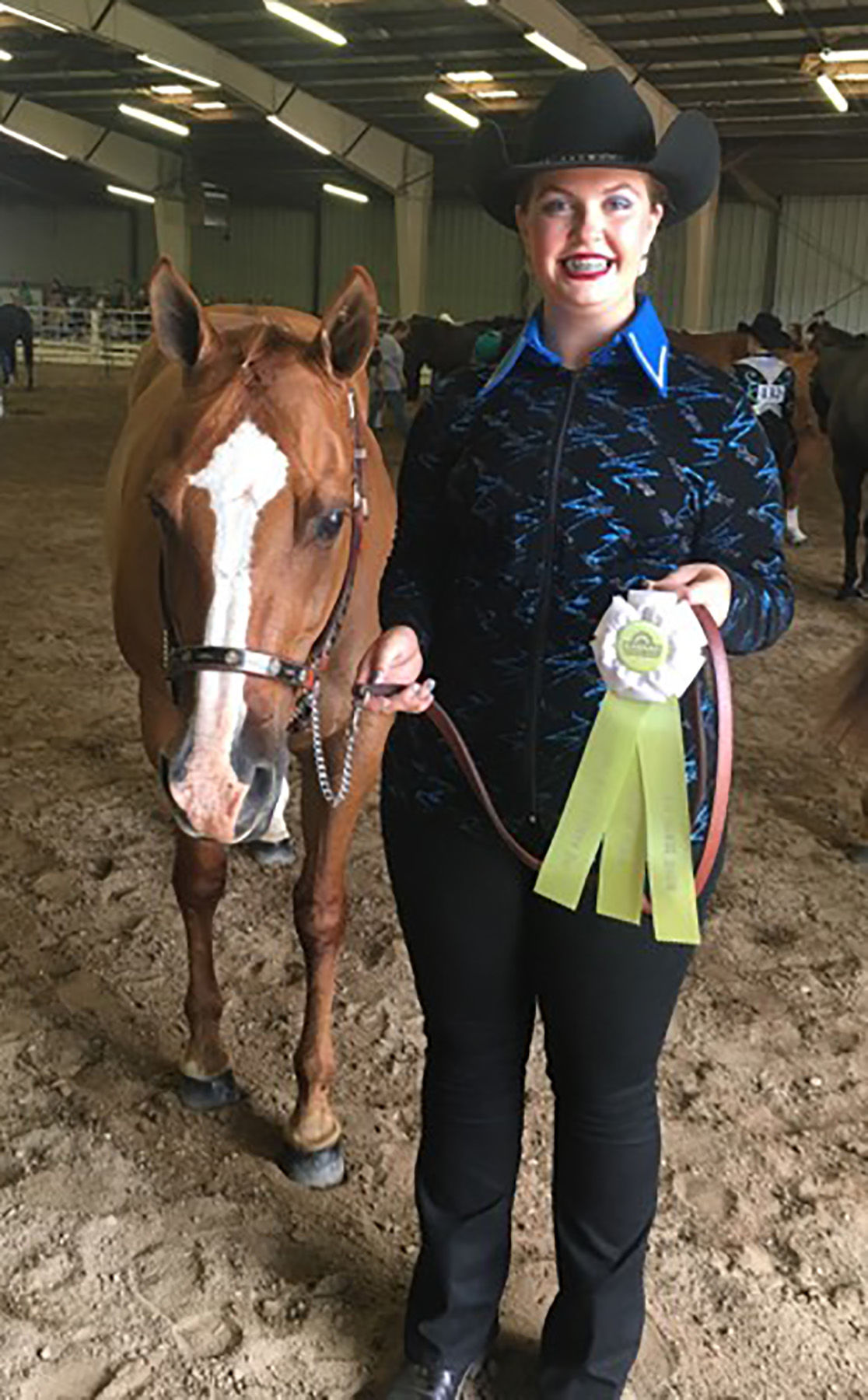 Local Girls Compete In Horse Projects At Kansas State Fair
