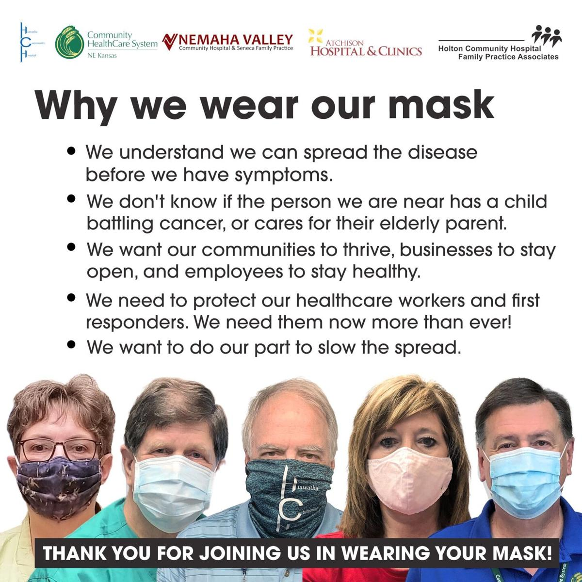 Face mask ad
