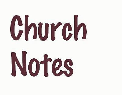 Church Notes graphic