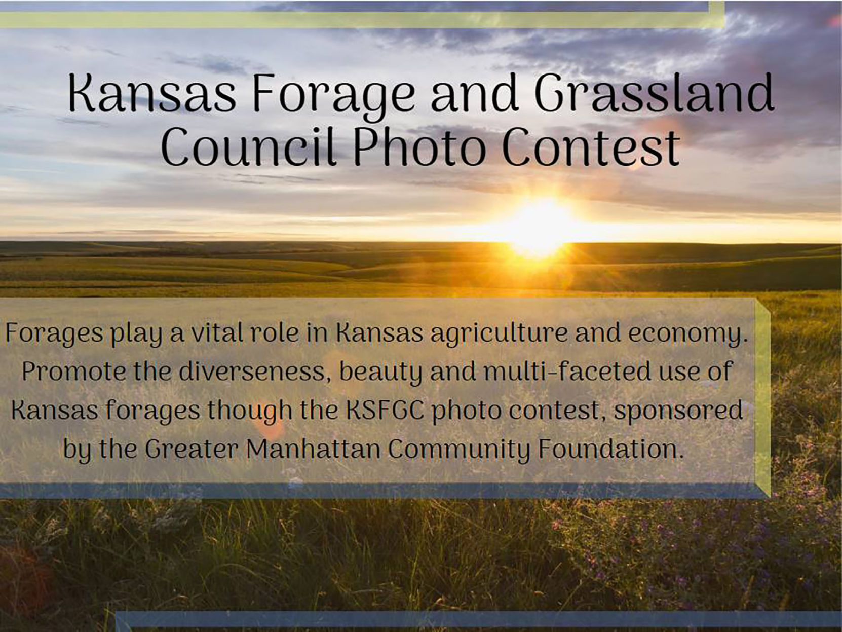 Kansas Forage and Grassland Council organizes its first photography contest