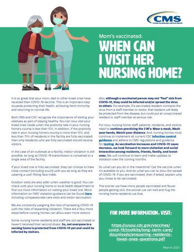 Nursing home graphic