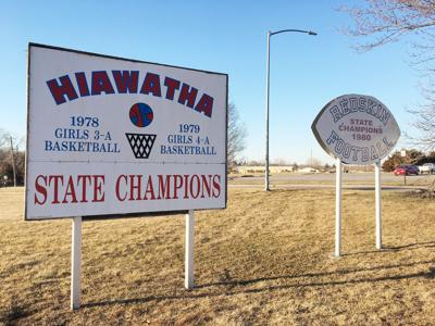 State champ signs