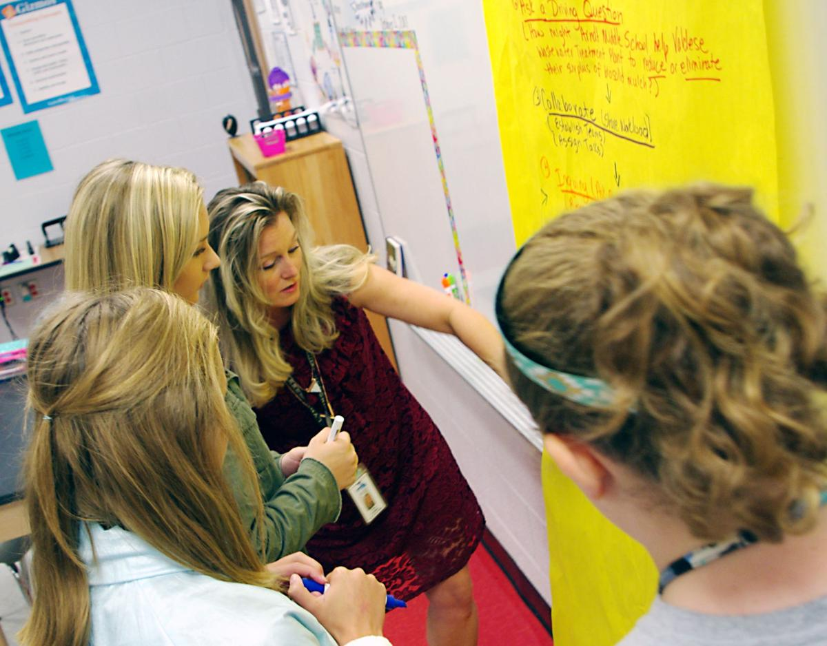 Hickory-area middle school students set sights on saving