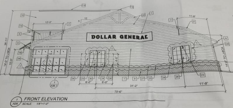 Dollar General Design Concept