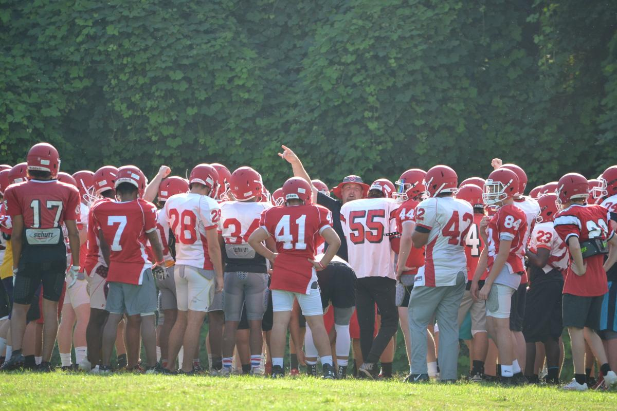 Newton-Conover football practice