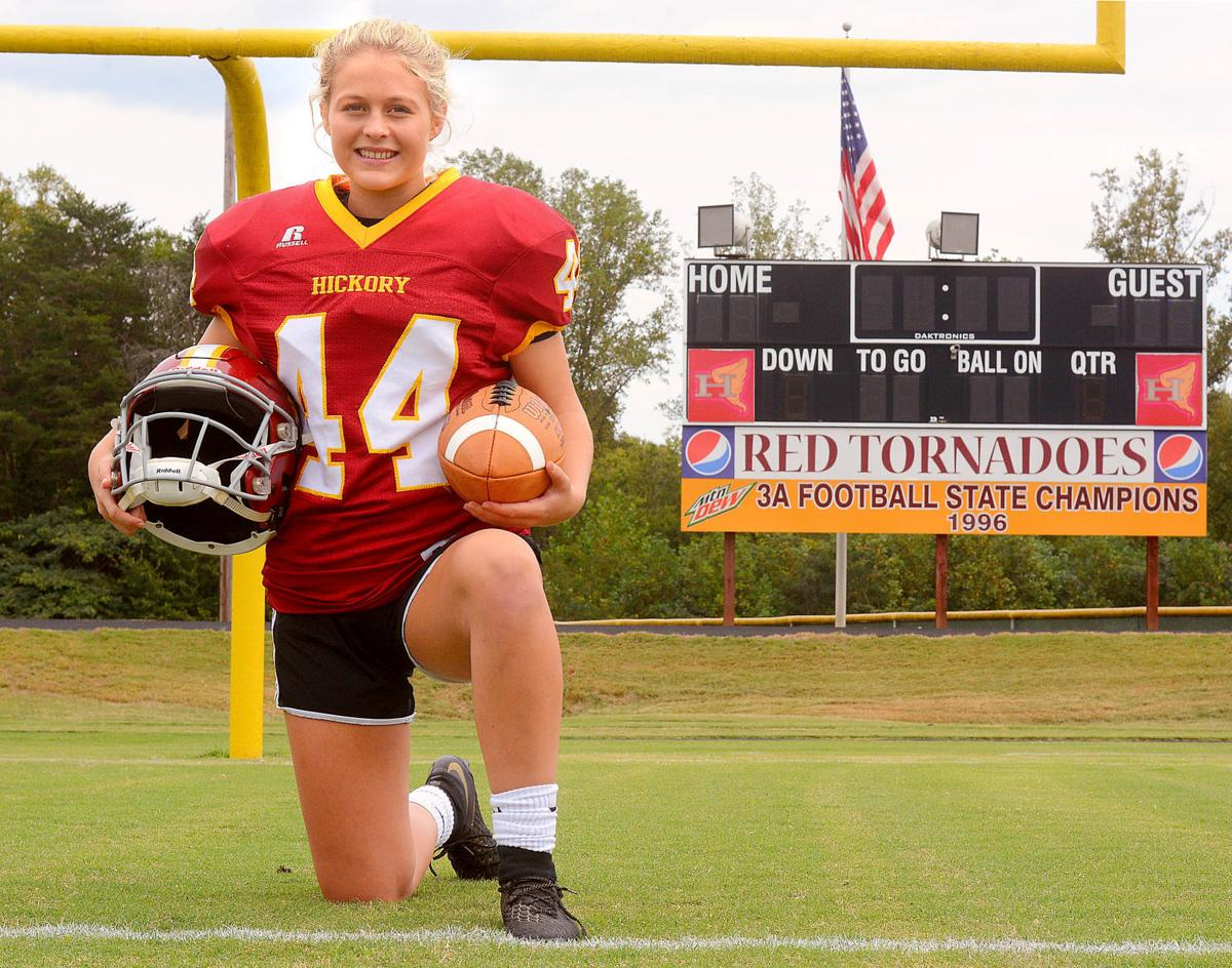 First to score at Hickory High School