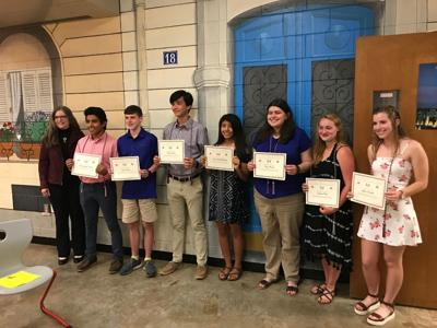 Hickory High inducts students into French Honor Society