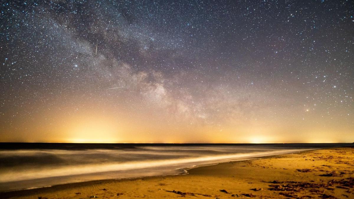 Lyrid meteor shower