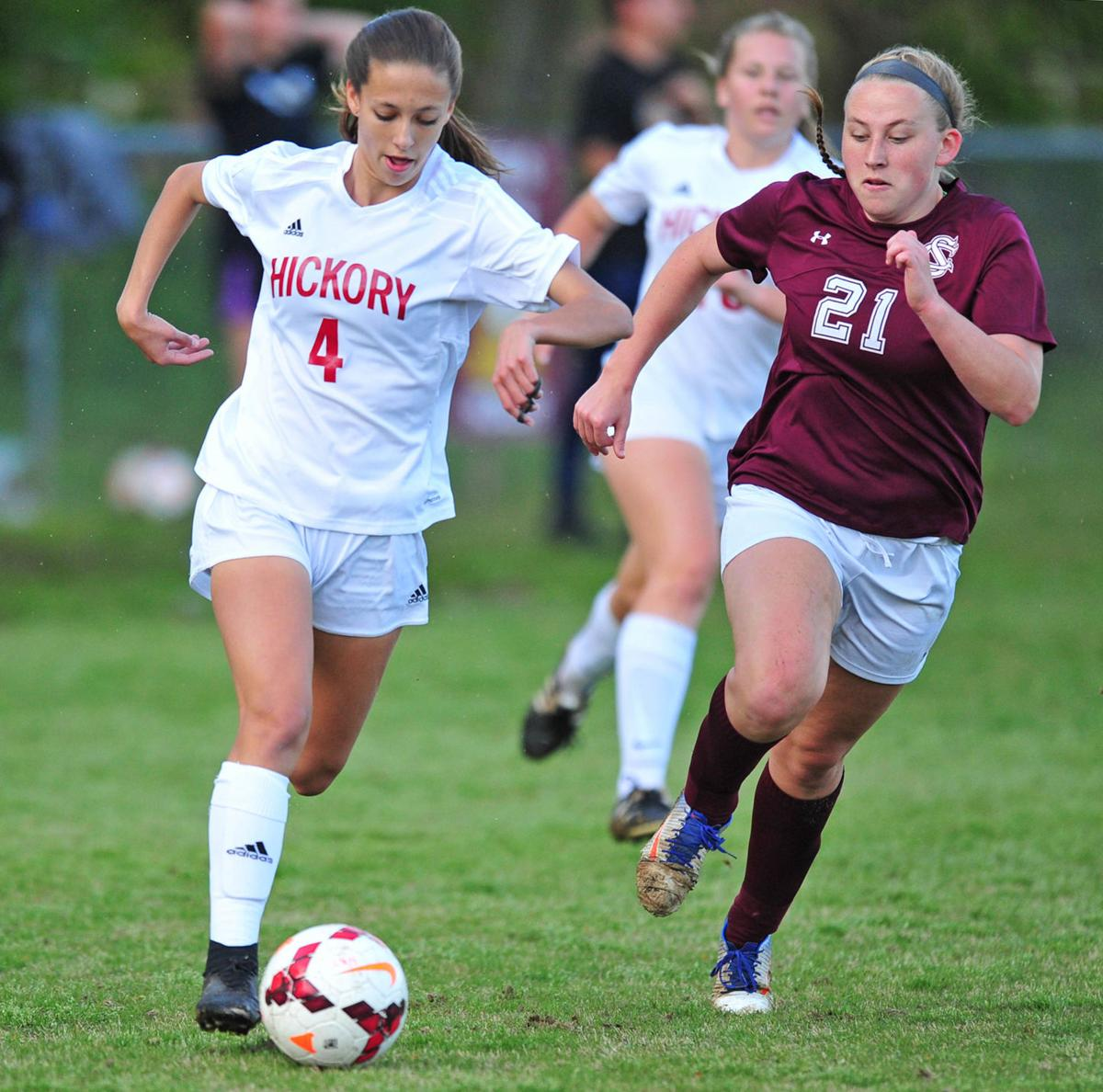 Hickory downs conference leader South Caldwell in wild girls