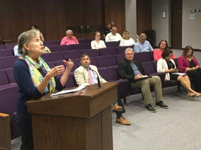 Speaker expresses dissatisfaction with polio mural vote