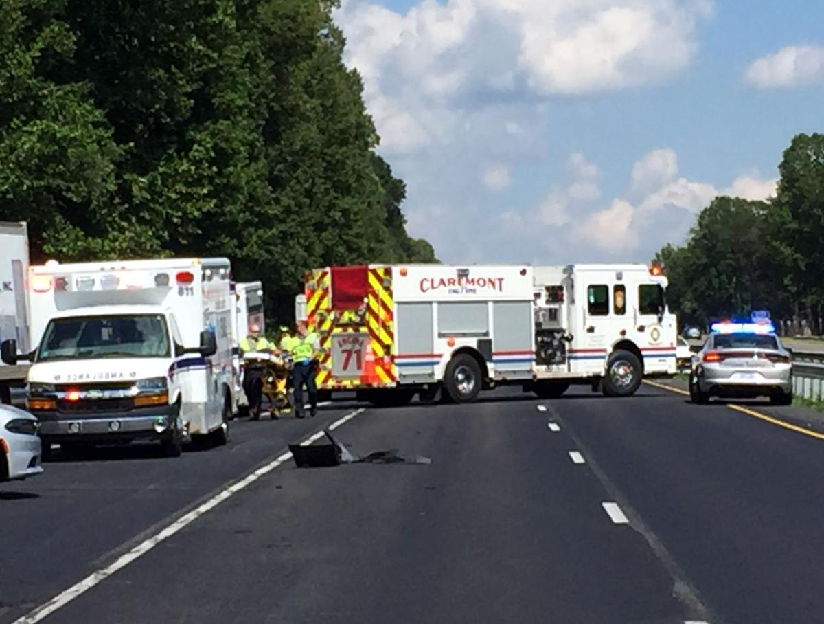 5-car accident reported on Interstate 40