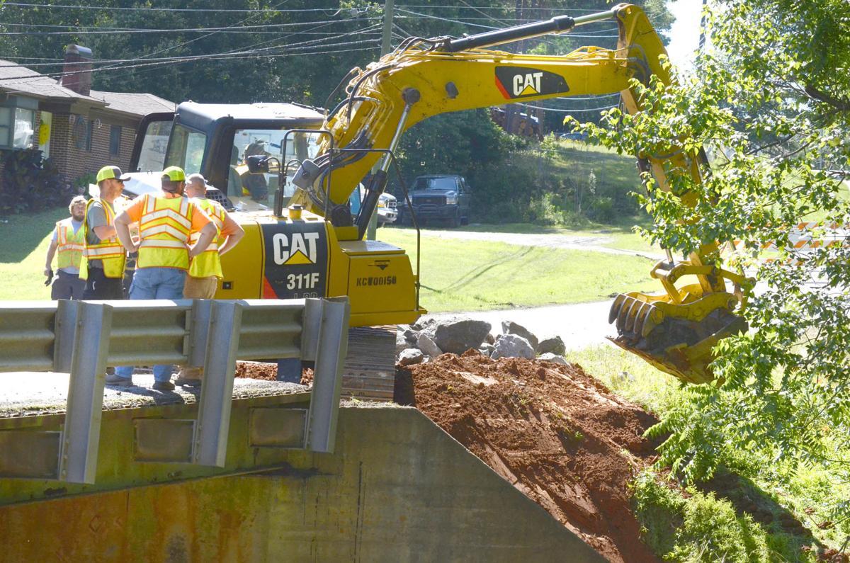 Kool Park Road bridge repair