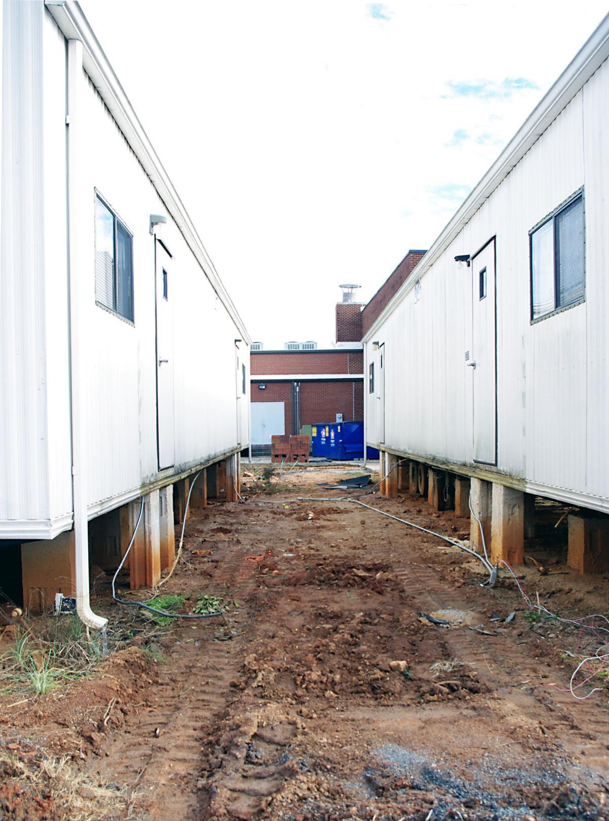 Modular Classroom Nc ~ Banoak elementary renovation plan gets phases