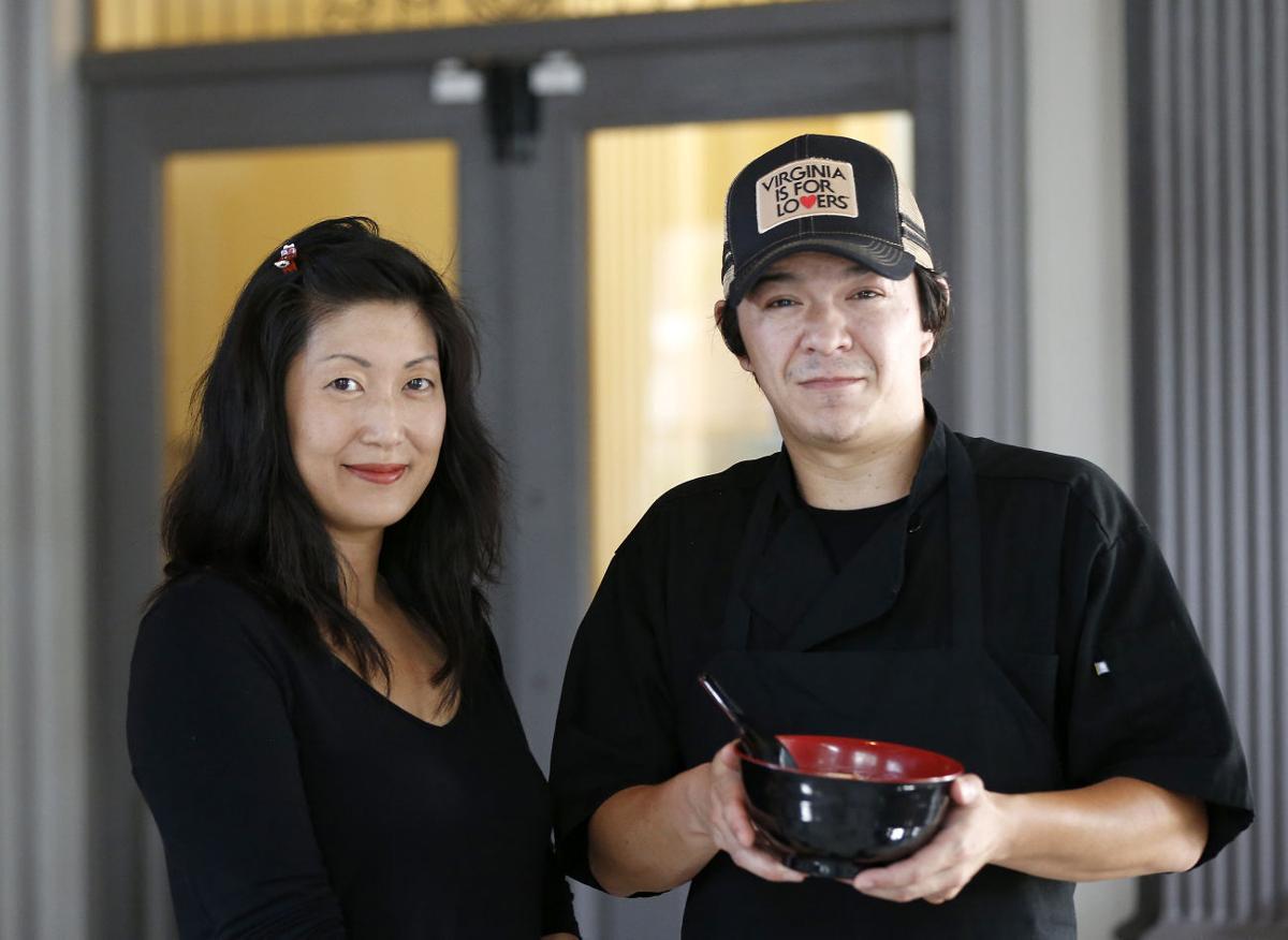 Sarah Choi and Chef Will Richardson of Shoryuken Ramen