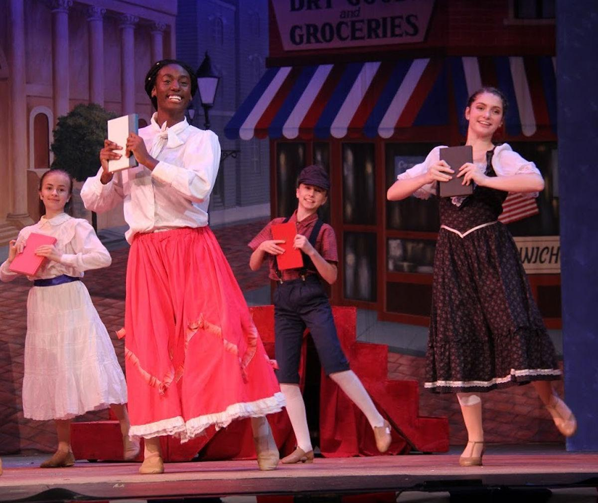 "Hickory Ballet & Performing Arts students dazzle in ""The Music Man"""