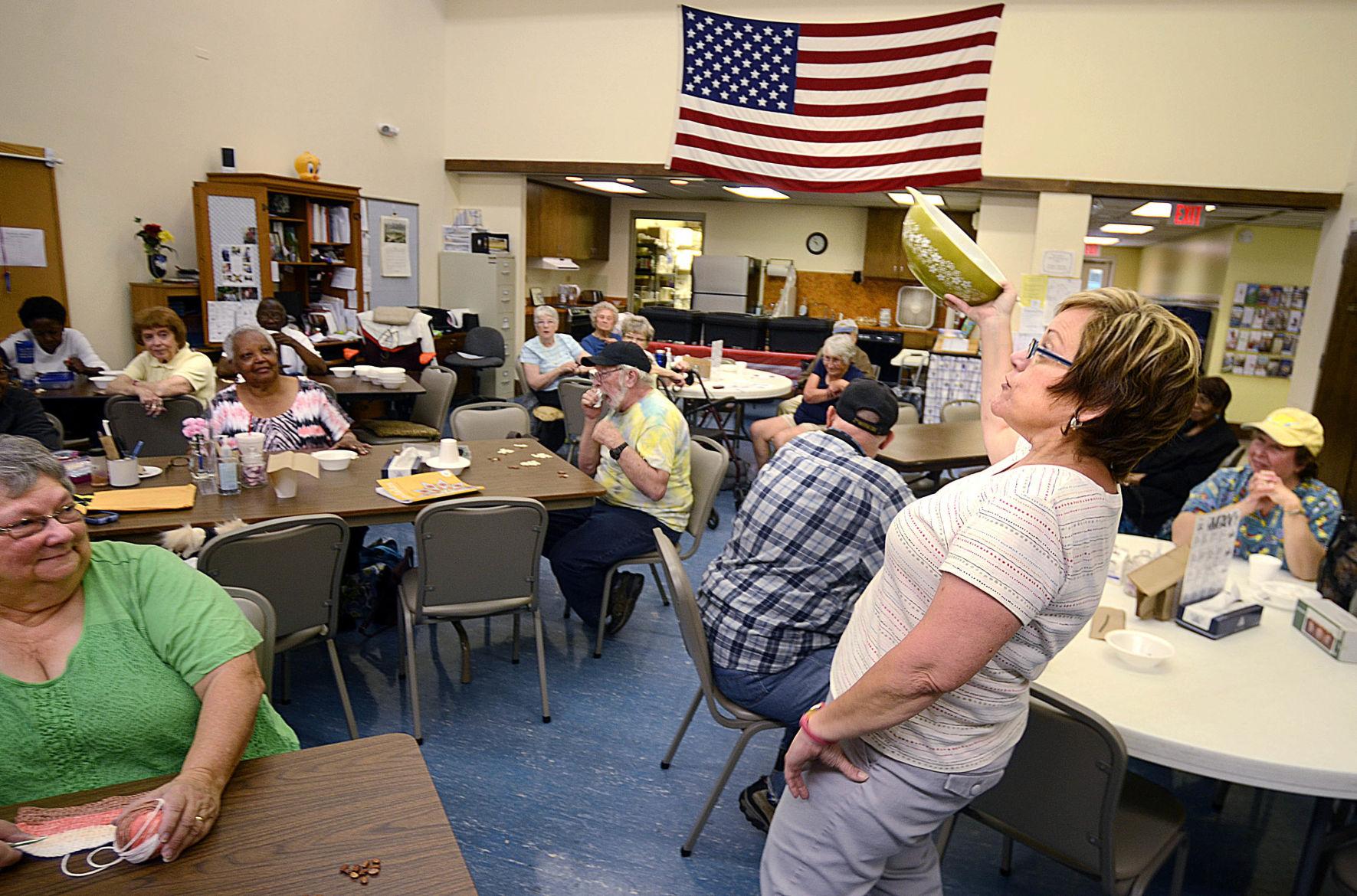 Column West Hickory Senior center Council on