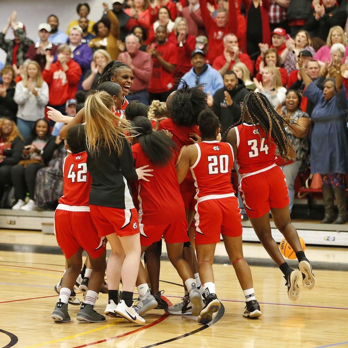 Newton-Conover girls basketball
