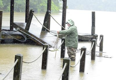Flooding in Catawba Valley