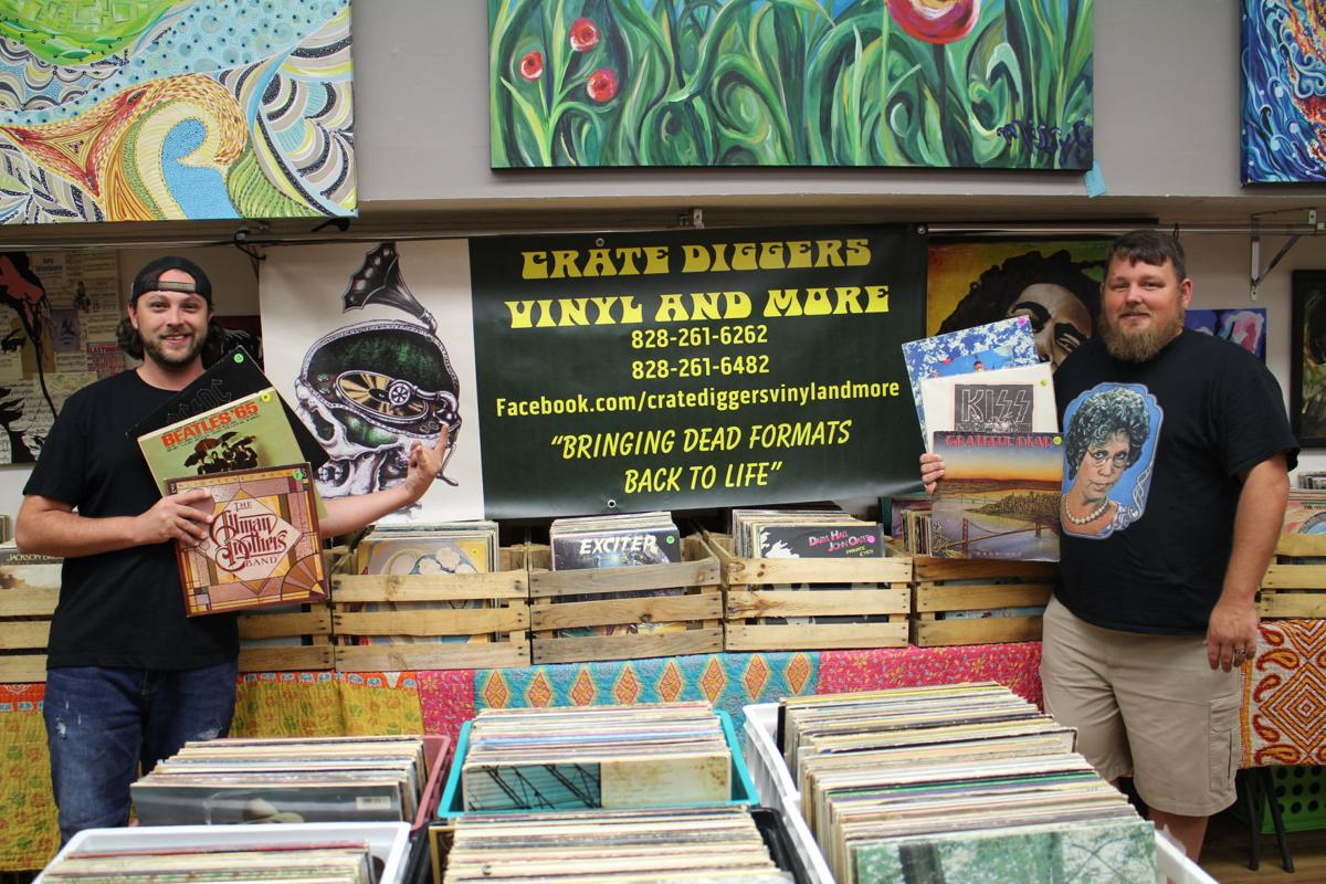 Record store opens downtown