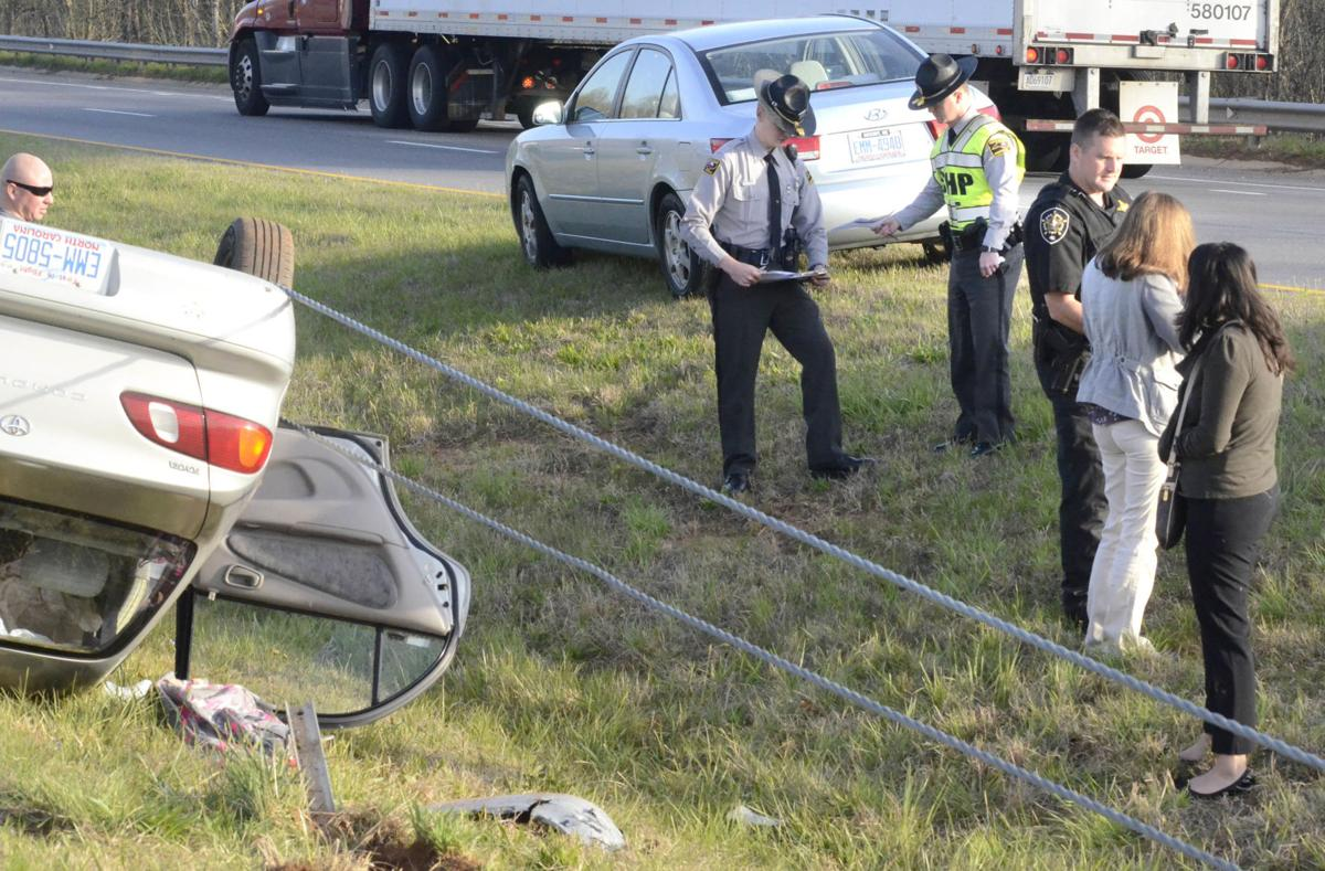 No injuries in two-car collision that overturns sedan | News