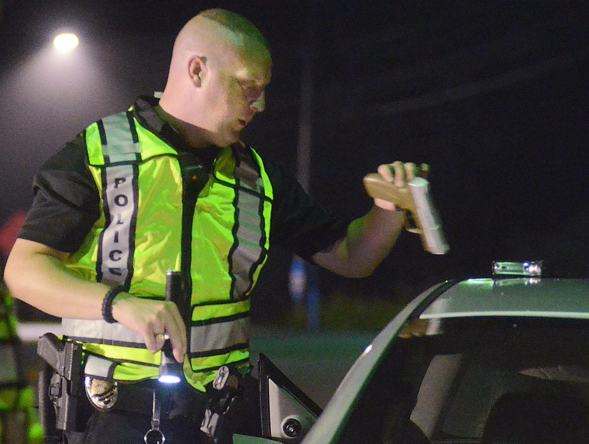 DWI checkpoint in Catawba