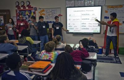 Youth participate in partnership between schools