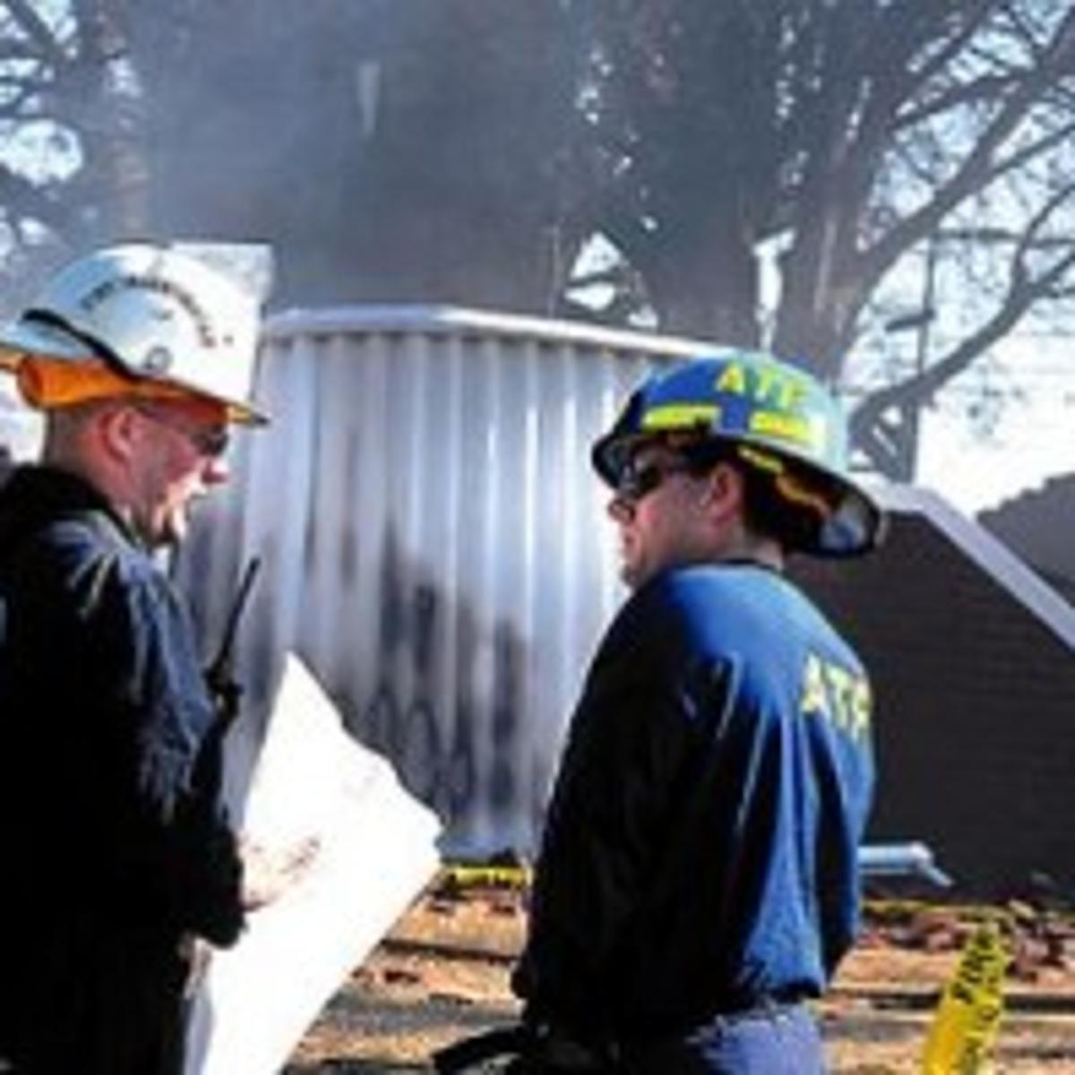 ATF: Cause of church fire may never be known, but no indication of