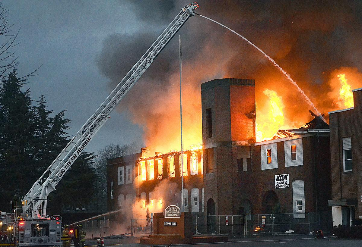 Fire Guts Historic Hildebran School Building News