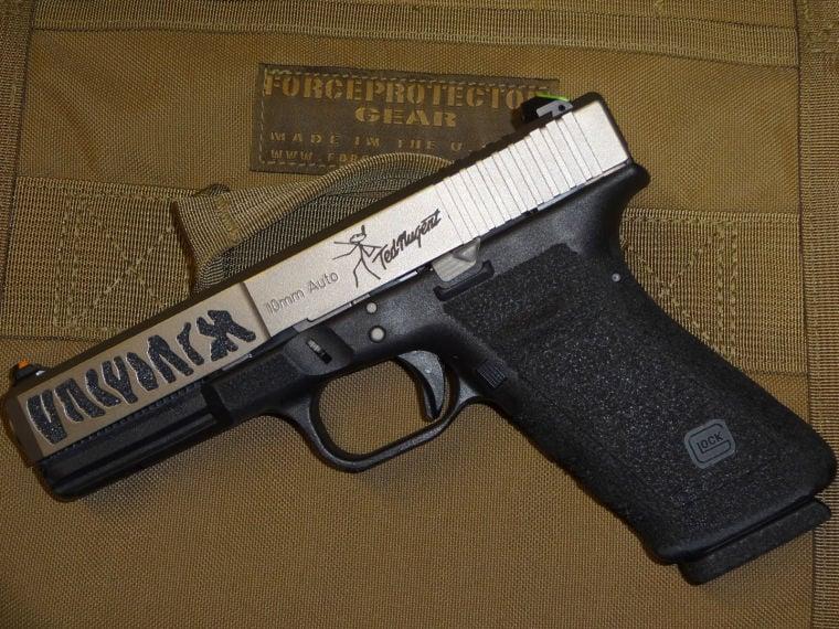 Ted Nugent's gun