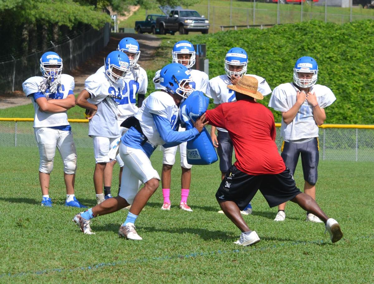 West Caldwell football practice