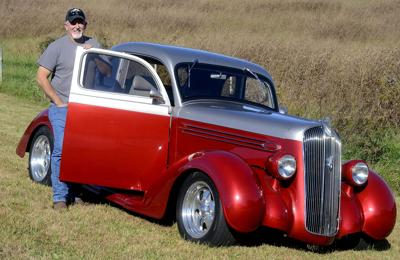 1936 Plymouth is one shiny street rod: Owner Roy Campbell ...