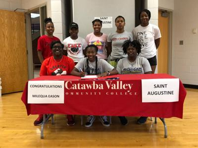 CVCC's Eason to play basketball at Saint Augustine's College